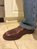 skor för män s Arkivfoton