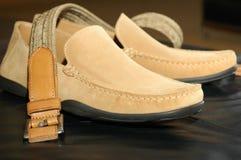 skor för man s Fotografering för Bildbyråer