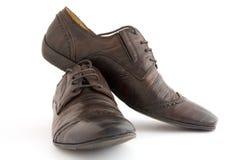 skor för man s Arkivbilder