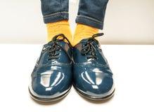 Skor för skola för Ð-¡ hild Arkivfoto