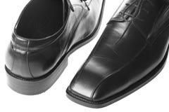 skor för svart man s Royaltyfria Foton