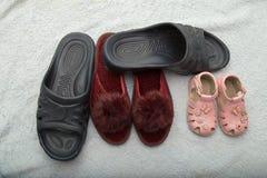 Skor skodon, kängor, känga Arkivbild