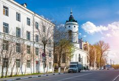 Skorbyashchenskaya kościół Obraz Royalty Free