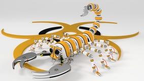 Skorpion Obrazy Royalty Free