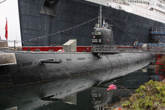 skorpion stara rosyjska łódź podwodna Fotografia Royalty Free
