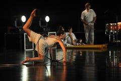 Skorpion-Tanzmusical: Rote Linie lizenzfreie stockbilder