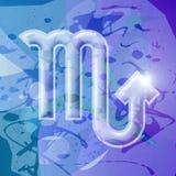 skorpion zodiak serii Obraz Stock