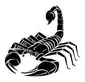 Skorpions-Maskottchen-Tätowierung vektor abbildung