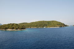 Skorpios island, Greece Royalty Free Stock Photography