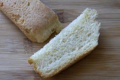 Skorupa biały chleb obraz stock