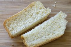 Skorupa biały chleb zdjęcia royalty free
