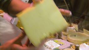 Skorupiasty i pleśniowy ser zbiory wideo