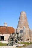 Skorupy wapna kilns Hasselt Obraz Royalty Free
