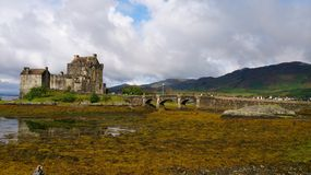 Skotsk fjord Royaltyfria Foton