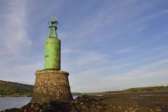 Skotsk fyr för flodnavigering Royaltyfria Foton