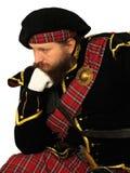 skotsk krigare arkivfoto