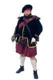 skotsk krigare Arkivfoton
