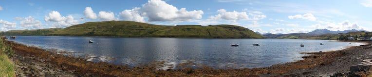 Skotsk liggande arkivbilder