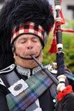 Skotsk säckpipa Fotografering för Bildbyråer