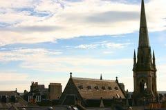 Skotsk sky Arkivbild