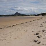 Skotsk strand arkivbilder