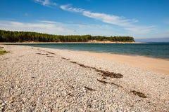 Skotsk strand royaltyfria foton