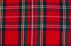 Skotsk tartanbakgrund Arkivbild