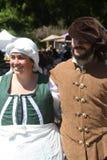 Skotsk tartanfestival royaltyfria foton