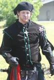 Skotsk tartanfestival royaltyfria bilder