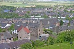 skotsk town arkivbilder