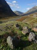 Skotska högländerna - Skottland Royaltyfria Foton