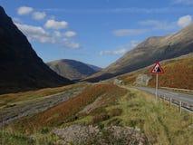 Skotska högländerna - Skottland Royaltyfri Bild