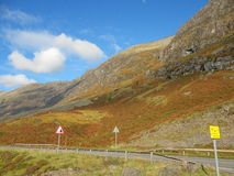 Skotska högländerna - Skottland Royaltyfria Bilder