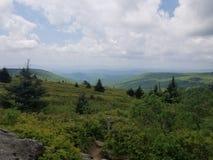 Skotska högländerna Virginia för bergsikt fotografering för bildbyråer