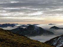 skotska högland Arkivfoton
