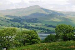 skotska högland Arkivbild