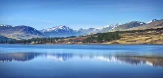 Skotska högland landskap Fotografering för Bildbyråer