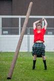 Skotska höglandlekar Royaltyfri Bild
