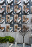 Skotska parlamentet sörjer för byggnad arkivbild