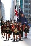 skotska soldater Arkivfoton
