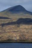Skotskt landskap, ö av Mull, Skottland Arkivfoton