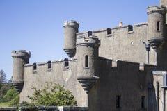 Skotskt slott Arkivfoton