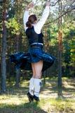 skott för dräktdansman Royaltyfri Fotografi