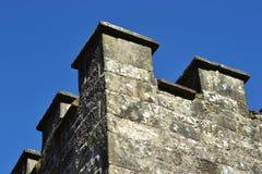 Skott för linjärt perspektiv av en slott royaltyfri bild