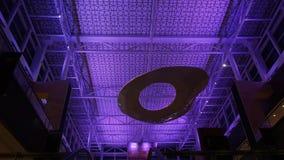 Skottet av den härliga inredesignen av nationen står högt Galleriagallerian lager videofilmer