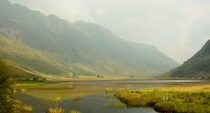 Skottet landskap Royaltyfria Bilder