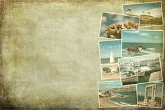 Skottland collagebilder Arkivbilder