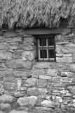 Skottland culloden, den gamla leanachstugan Arkivbild