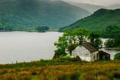 Skottland fjord Lommond Arkivbilder