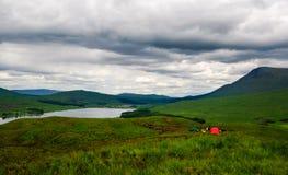 Skottland höglandtent Royaltyfria Foton